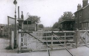 Brockhurst Crossing looking south