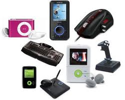photos of many gadgets