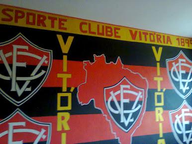 Bandeirão Rubro Negro na Toca