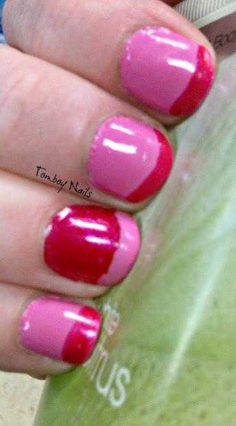 tomboy nails pink wednesdays