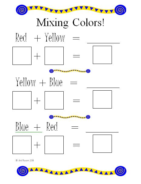 how to mix primary colors to make other colors