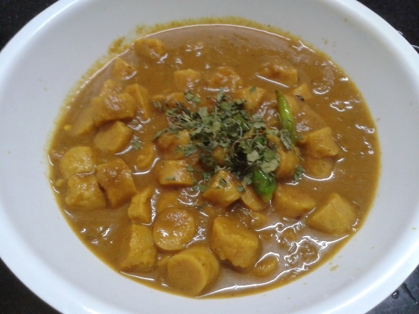 How to make Gatte ki Sabzi