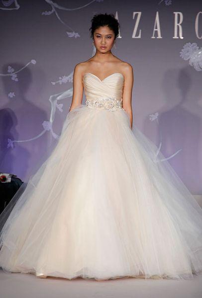 vestidos de novia otoño invierno 2011 2012 lazaro ~ peinados para