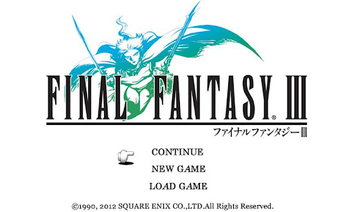 new FINAL FANTASY III 1.0.5 APK + DATA (Android)