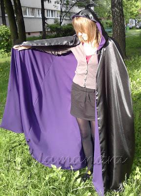 violet cloak
