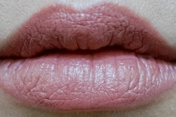 Swatch: Cover Girl Lip Perfection Lipstick in 270 Rush