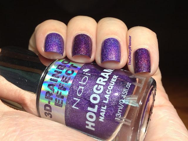 Nabi Holographic Dark Purple vs ColorClub Wild At Heart