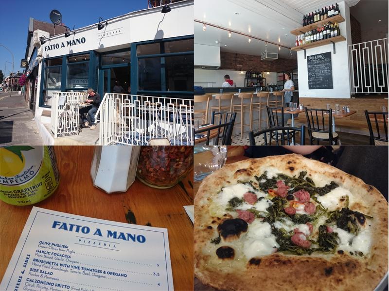 Famoso REVIEW: Fatto a Mano pizzeria, Brighton | The Graphic Foodie  SC13