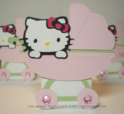 Baby Shower Favors on Land Of Encraftment  Hello Kitty Baby Shower   Favors