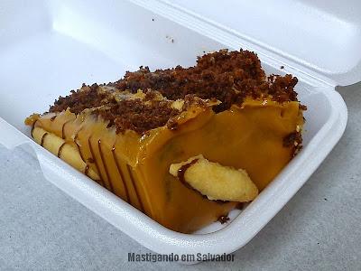 Doce Vanilla: Fatia da Torta Três Delícias