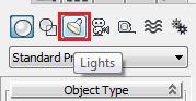 Menú 'Create' > 'Lights'