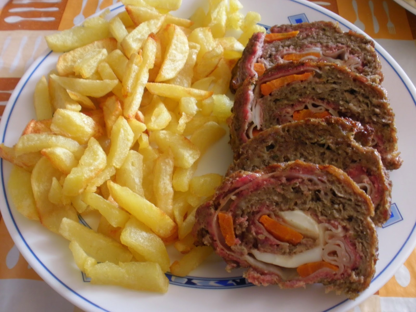 Qsabores falda rellena de carne picada - Como cocinar carne picada ...