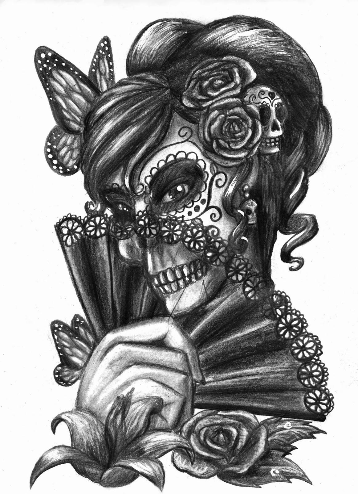 kate mcspadden 39 s animation and cartoons tattoo art t shirt design contest danza de la muerte. Black Bedroom Furniture Sets. Home Design Ideas