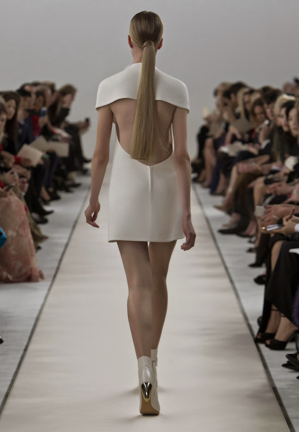 The Runway at Valentino's New York Couture Show
