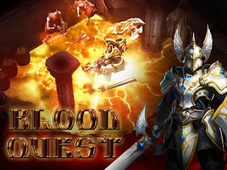 Screenshots of the Blood quest for Android tablet, phone.