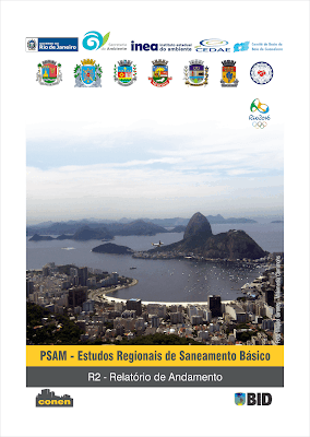 capa do Produto 2 dos Estudos Regionais da Baixada Fluminense.