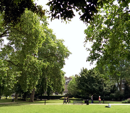 London notes: Russell Square