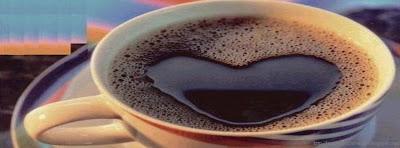couverture facebook timeline design avec café
