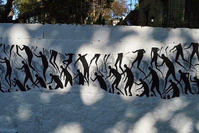 """""""Senda"""" New Street Art Piece By David De La Mano In Montevideo, Uruguay. 3"""