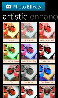 تطبيق مجاني لهواتف نوكيا لوميا وويندوز فون لإضافة تأثير على الصور Photo Effects-xap-1