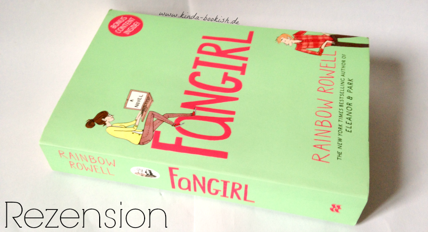 Rezension Fangirl Rainbow Rowell