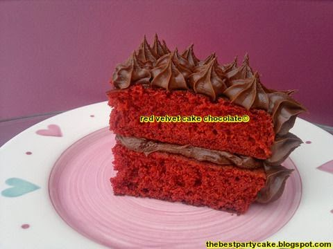 red velvet cake chocolate