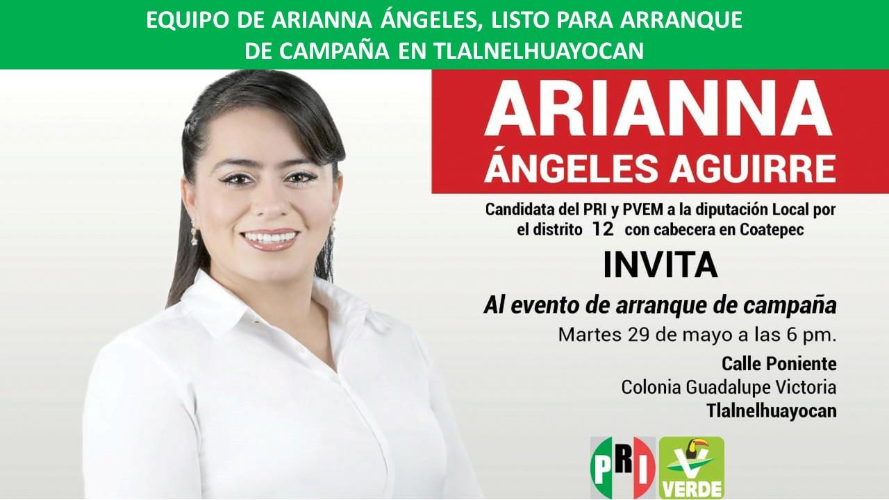 ARRANQUE DE CAMPAÑA EN TLALNELHUAYOCAN
