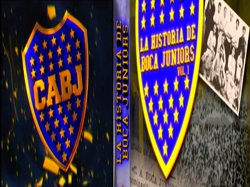 DVD LA HISTORIA DE BOCA JUNIORS VOL 1