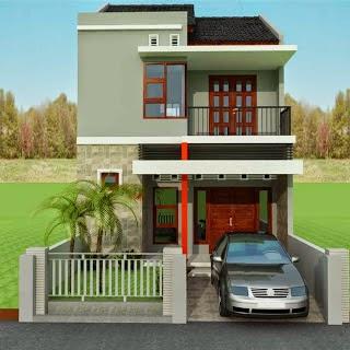 gambar rumah idaman sederhana 2 lantai | desain rumah