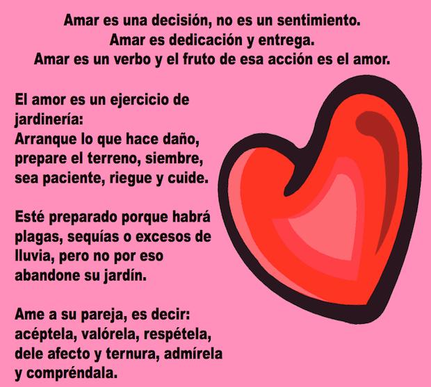 Amar y amor