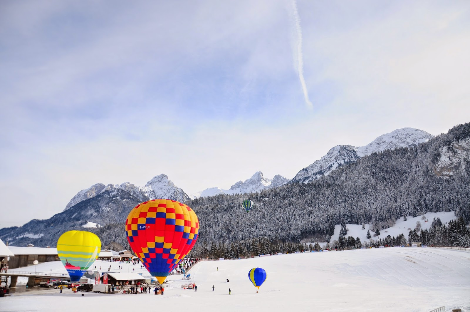chateau doex festival globos suiza