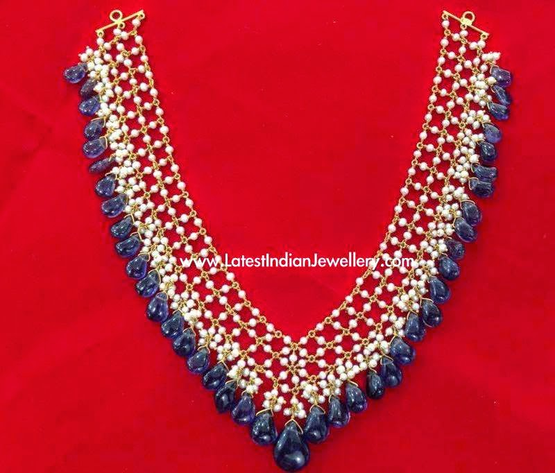Pearl Emerald Light Weight Necklace