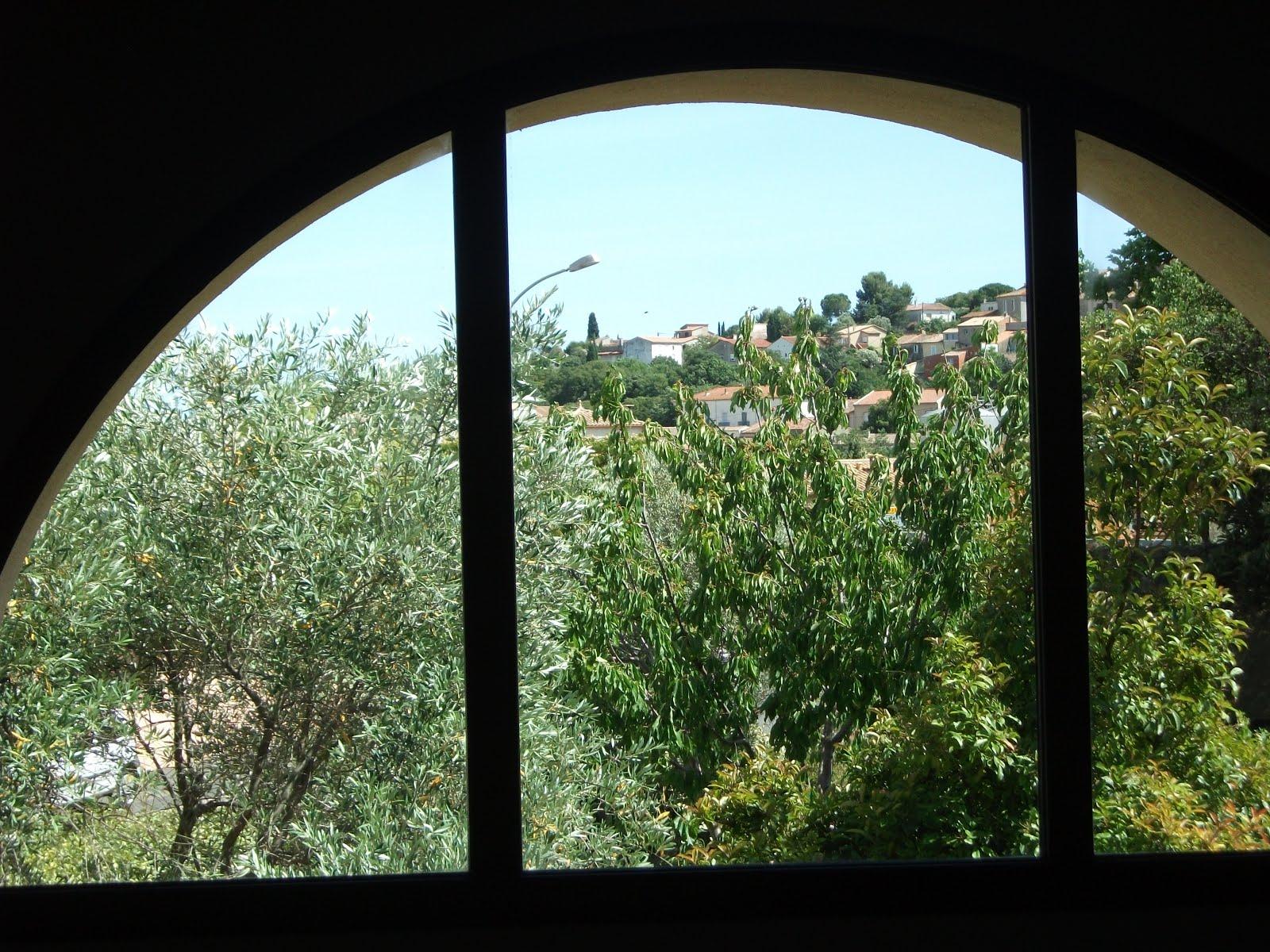 Villa olivier - Vue sur le village