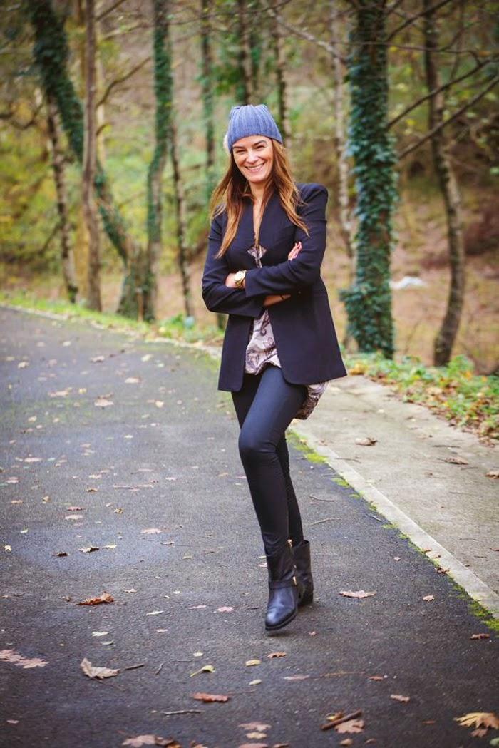 Gorro  con Pompom , es cuestion de estilo , Lucía Díez , Stretstyle , Blog