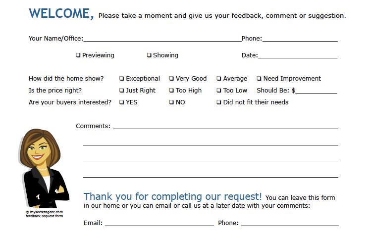 Awesome Feedback Form Sample Pictures Best Resume Examples for – Feedback Form Sample