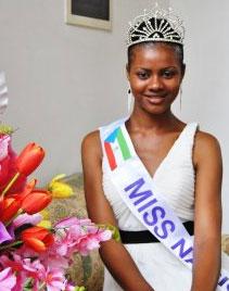 miss equatorial guinea 2012 winner lidia avomo