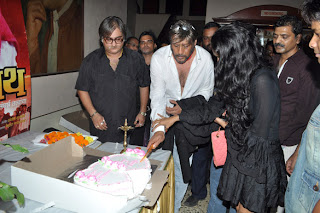 Jackie Shroff at 'Hridaynath' Marathi movie premiere
