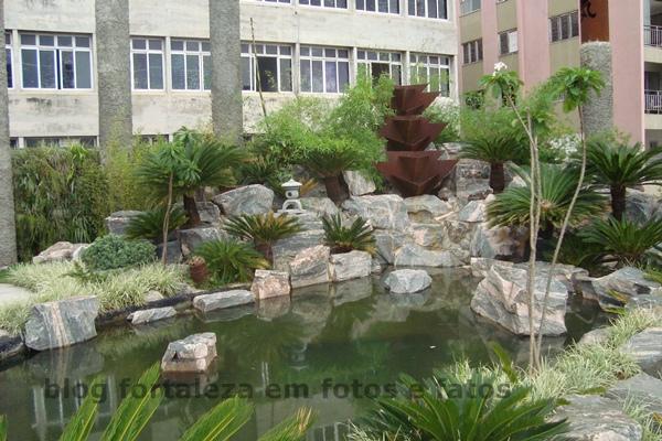 imagens do jardim japones em fortaleza:construção do Jardim Japonês custou cerca de R$ 2 milhões aos