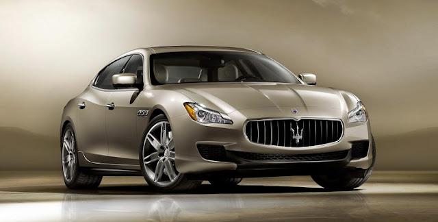 Il frontale della nuova Maserati Quattroporte 2013