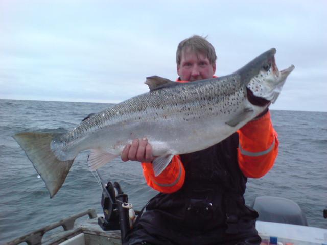 Jansson med lax på 10,62kg 2012-01-08