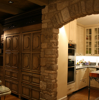 Romancing The Home Kitchen Design With Old European Elegance