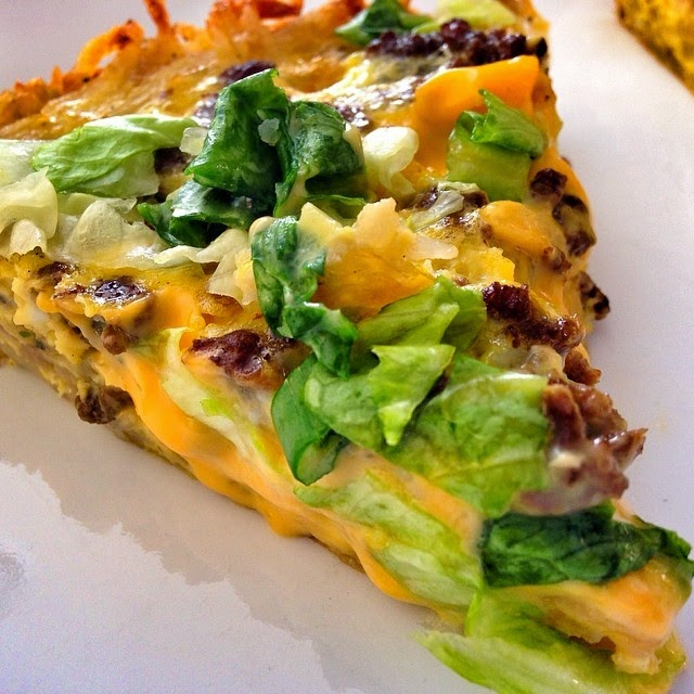 Cheeseburger Pie With a Potato Crust