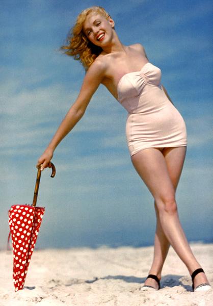beach sex goddess blonde