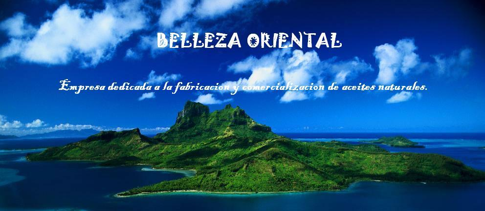 BELLEZA ORIENTAL