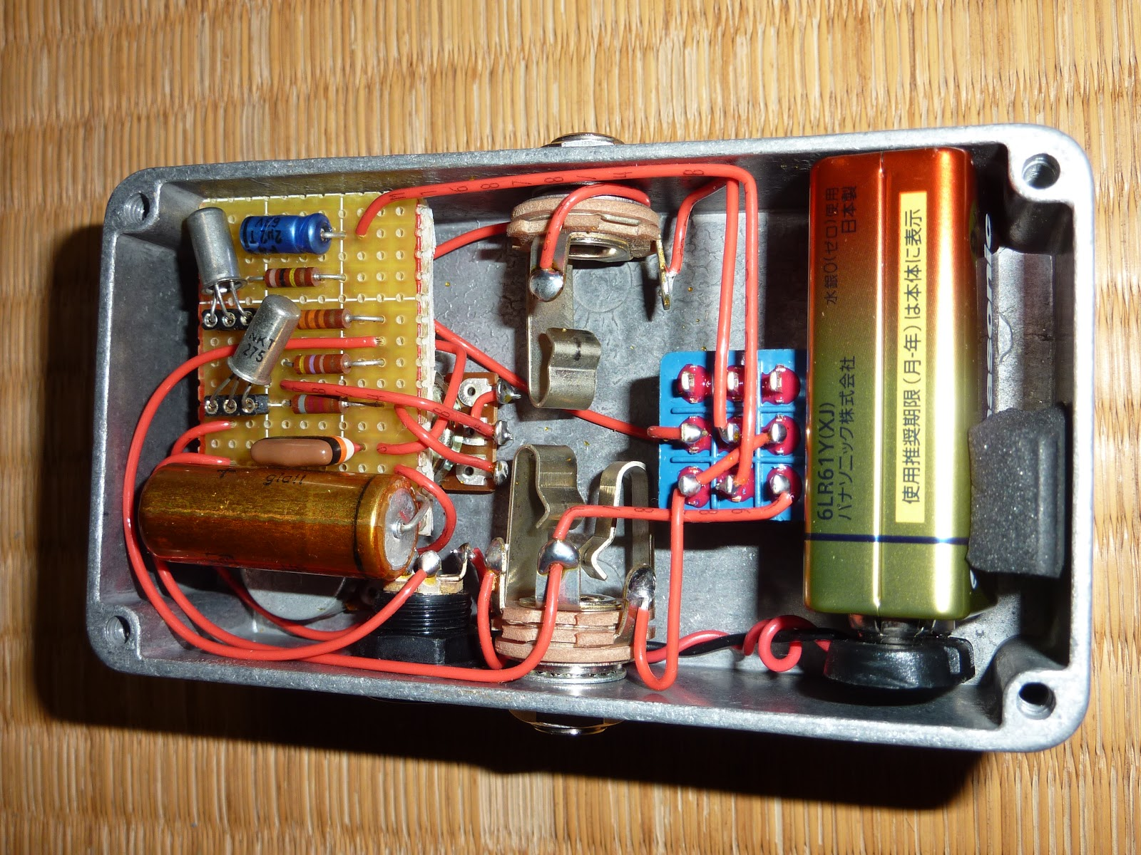 Shibuyagakki Silver Face Germanium Nkt 275 Fuzz For Sale Offers Circuit This Is A Very Lightly Used Example And In Condition Complete With Original Box No Velcro Works Perfectly Email Any Questions Or