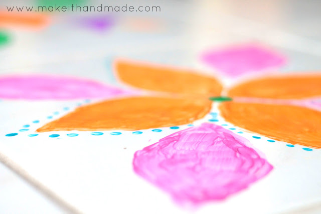 Painted Rangoli for Diwali Tutorial by Make It Handmade