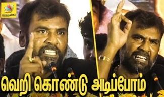 Rocket Raja Angry Speech