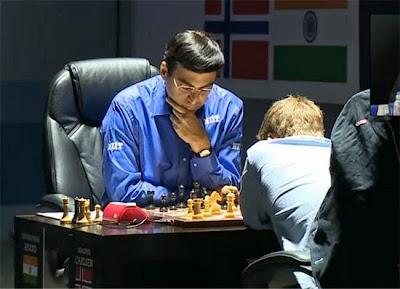 Partie 6 : Anand aurait pu gagner face à Magnus Carlsen au championnat du monde d'échecs 2014 © Chess & Strategy