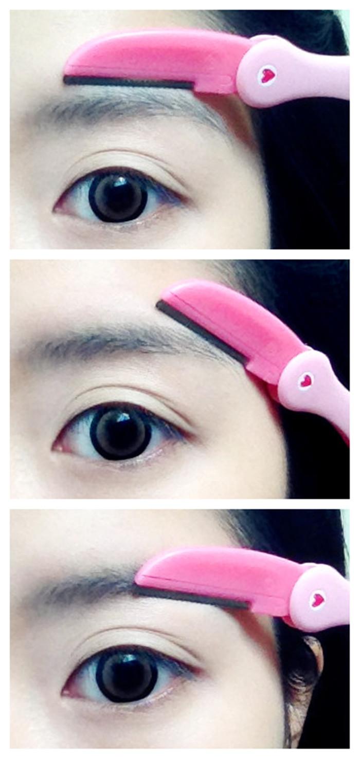 Dollpearls Etude House Flamingo Eyebrow Razors