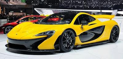 McLaren P1 – Top kecepatan 217 mph